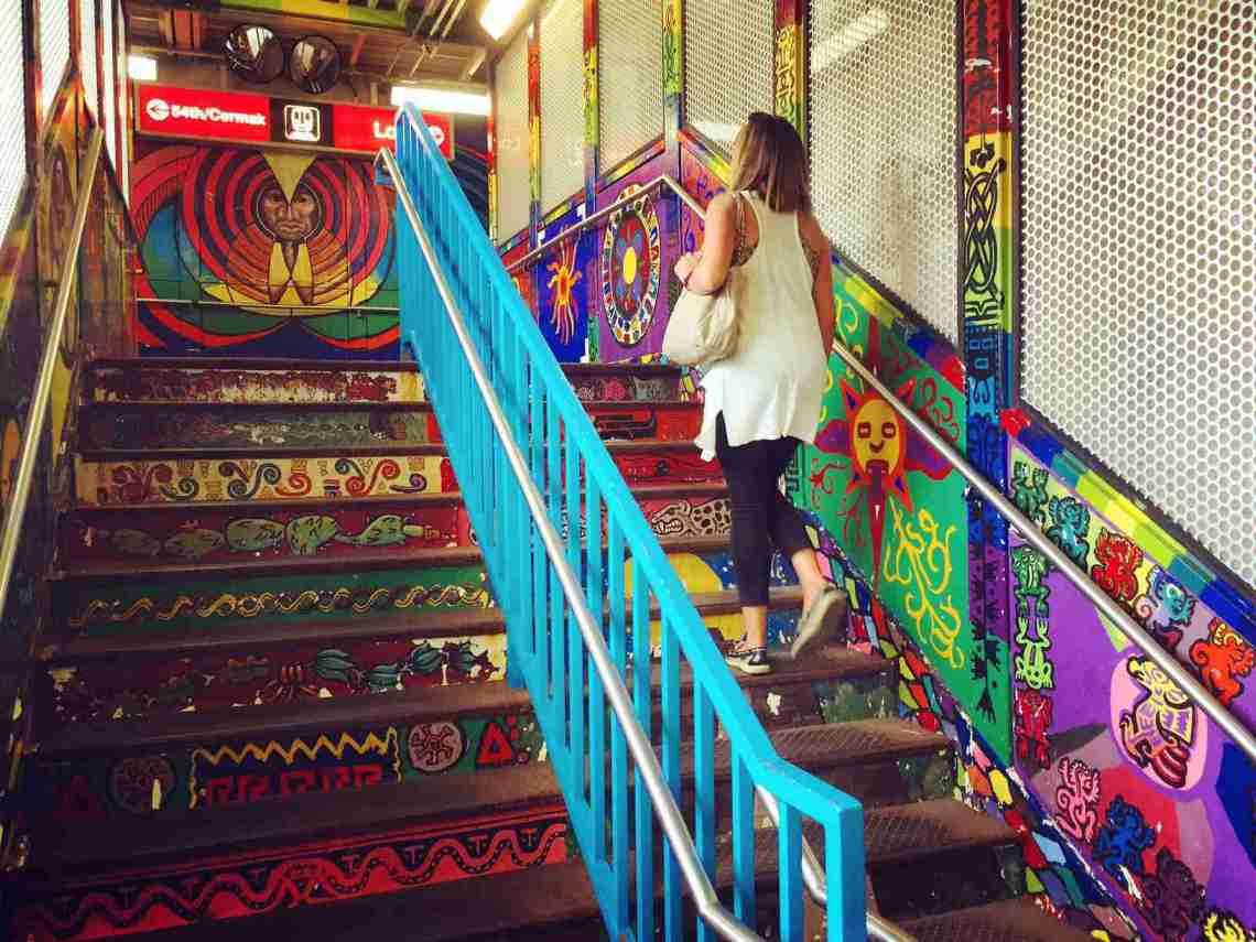 Pilsen, Chicago train station