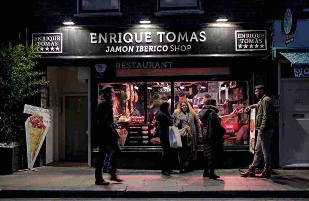 Enrique Tomas Jamon Iberico Restaurant London