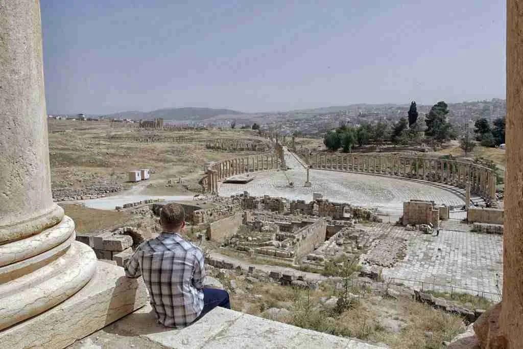 Jerash Ruins Jordan