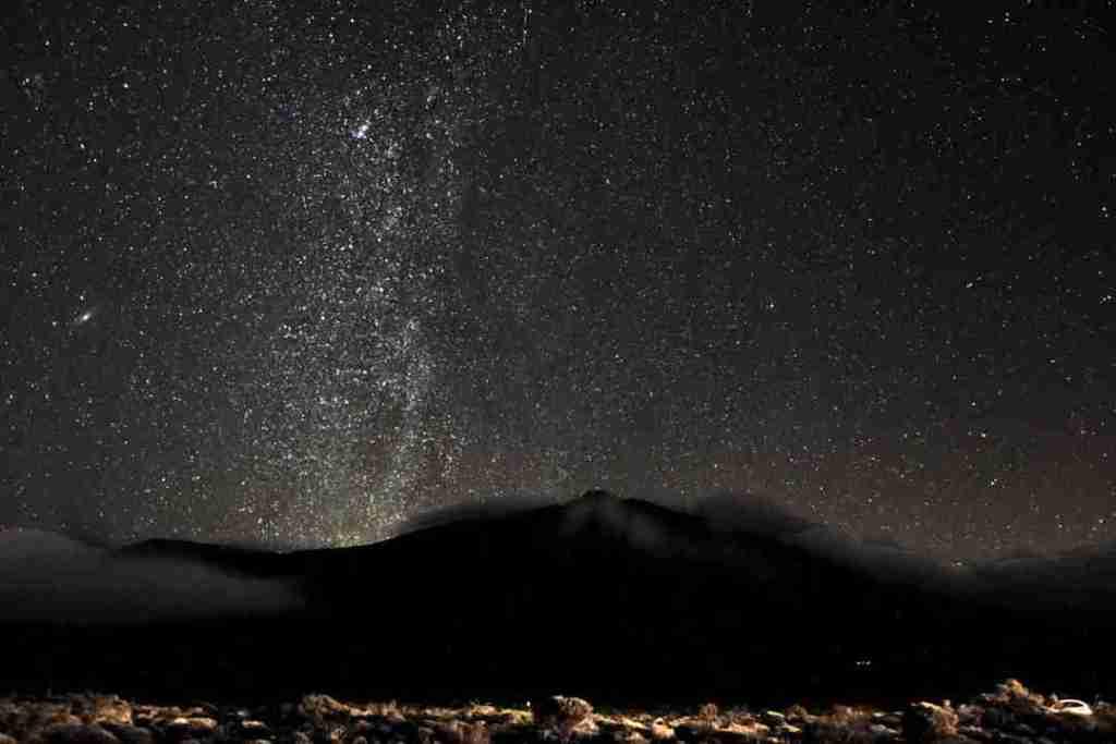 Volcano-Teide-Milky-Way
