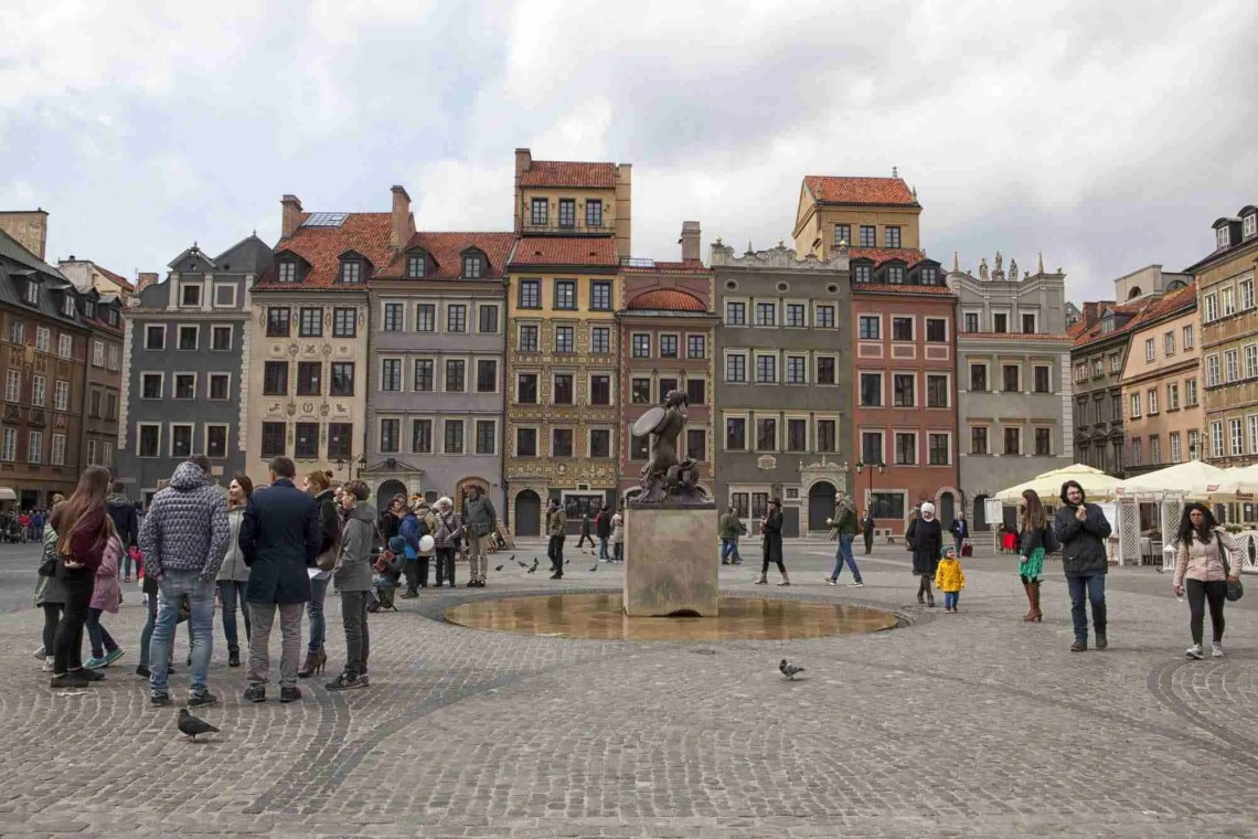 Old Town Center Warsaw