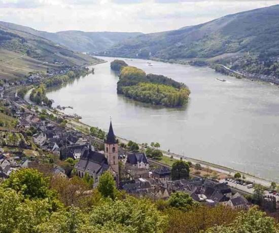 Lorch, Germany Rheinsteig Hiking Trail