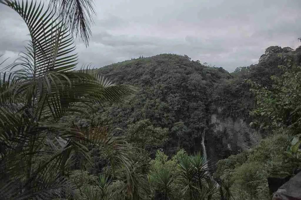 El Salto View Orosi Valley Costa Rica
