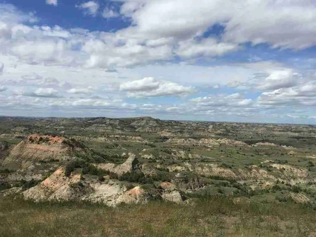 Painted Canyon Near Medora North Dakota
