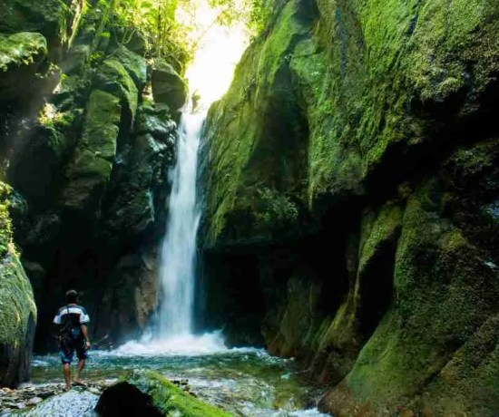 Pendung Semurup Waterfalls