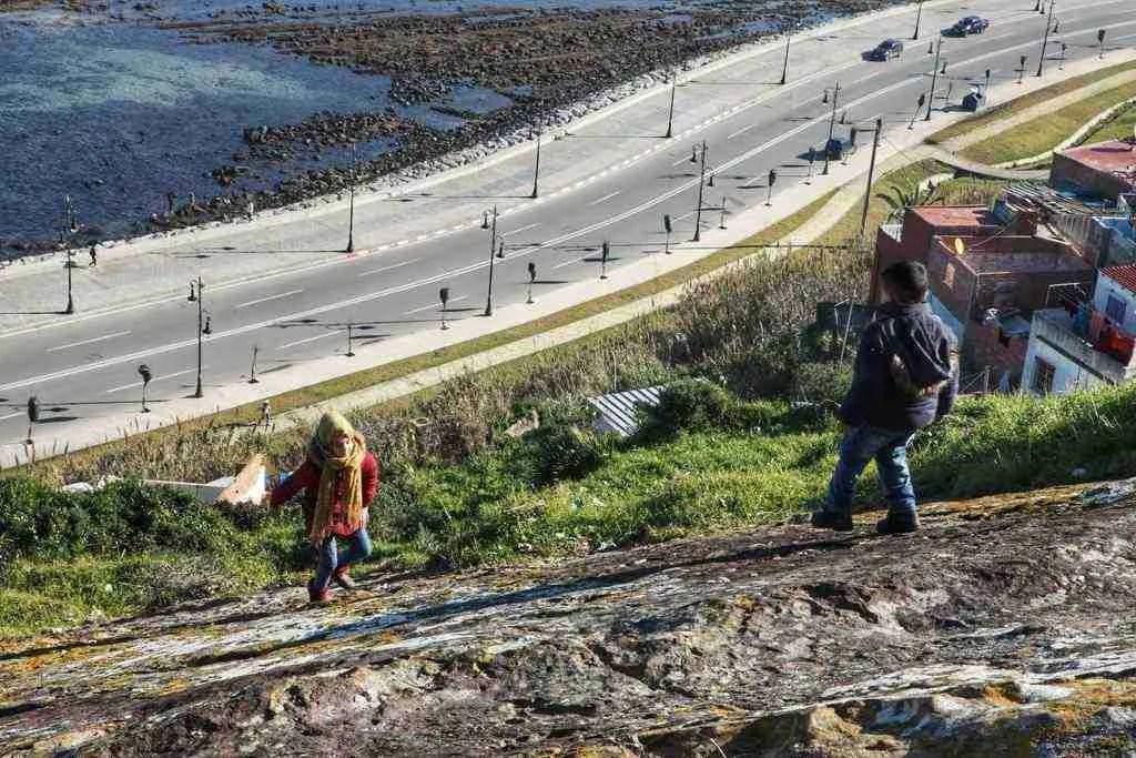 Kids Playing in Tangier