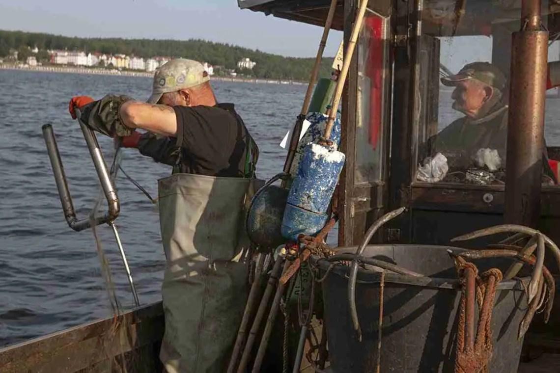 Men Fishing in Usedom