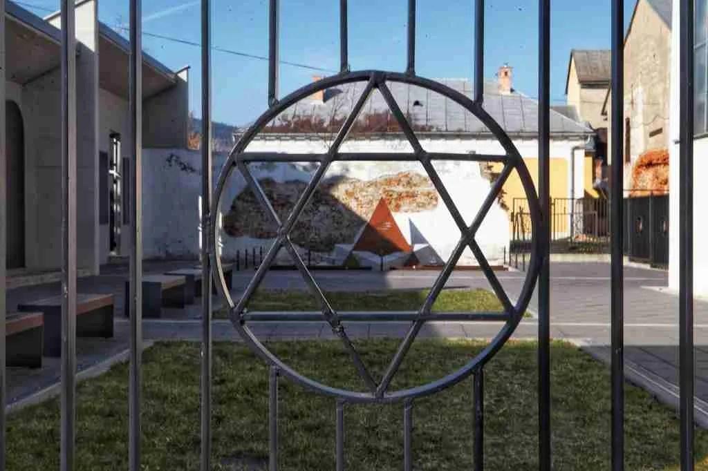 Bardejov Holocaust Memorial Star of David