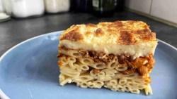 Vegetarian Greek Pastitsio