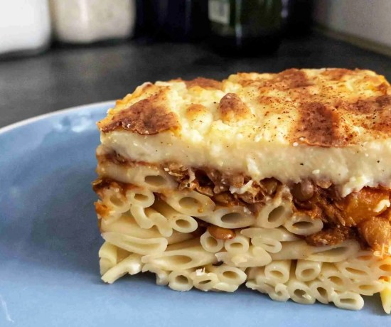 Vegetarian Greek Pastitsio
