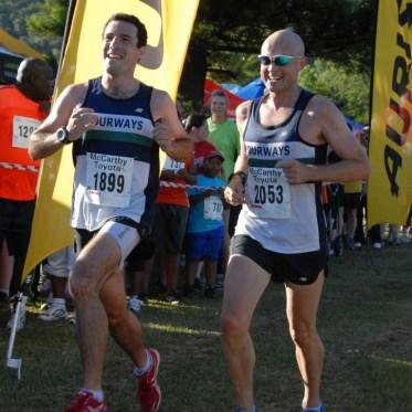 McCarthy Half Marathon - Approaching the finish line