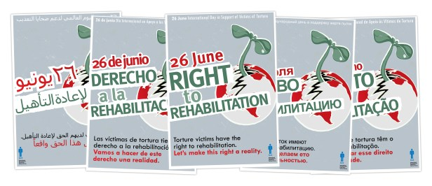 The IRCT published a report into the right to rehabilitation to mark the 26 June UN International Day to Support Victims of Torture: http://wp.me/p1FGNE-oK