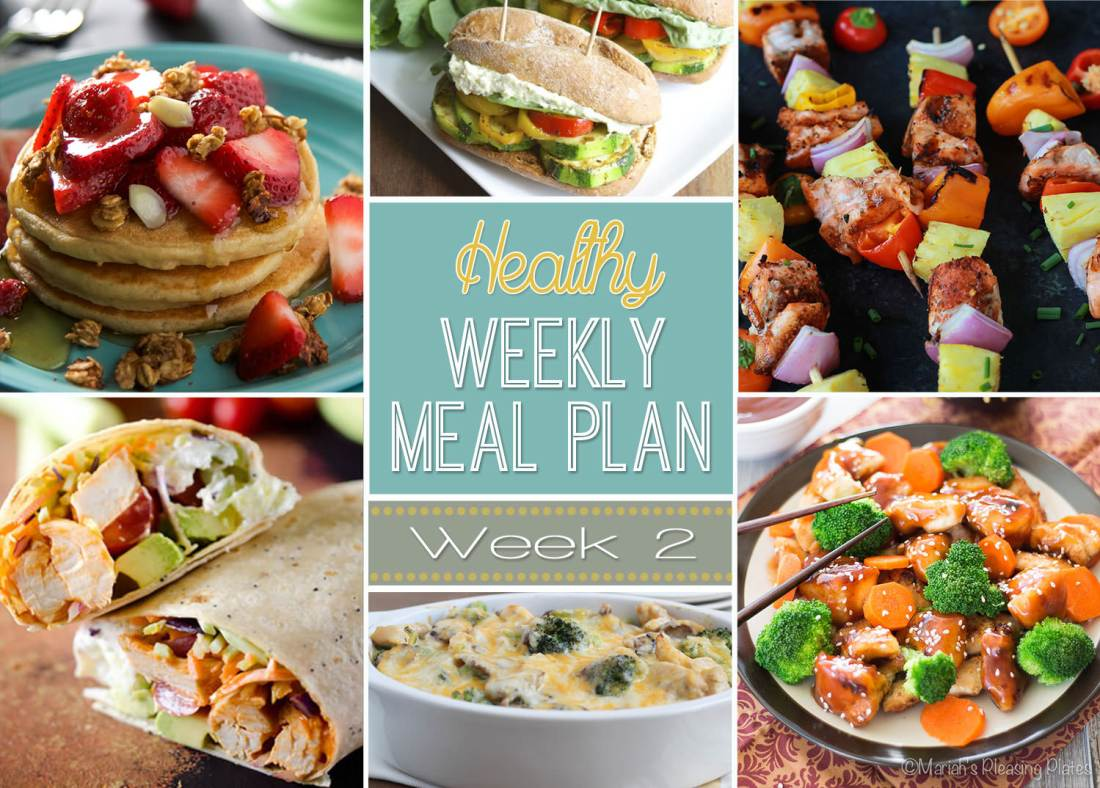 Healthy Meal Plan Week 2
