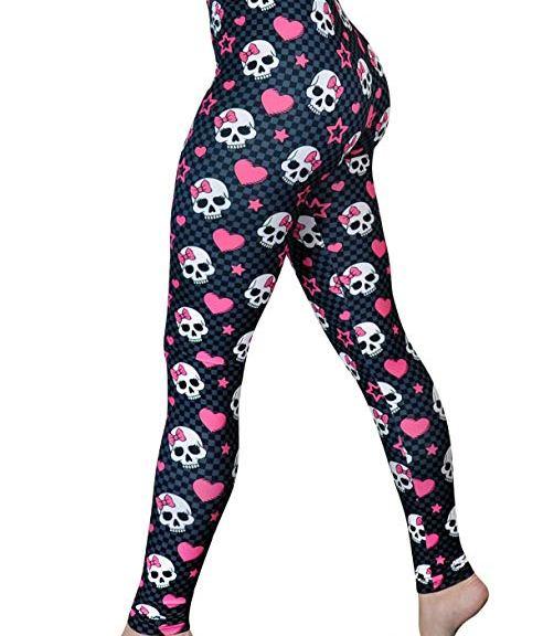 skull legging
