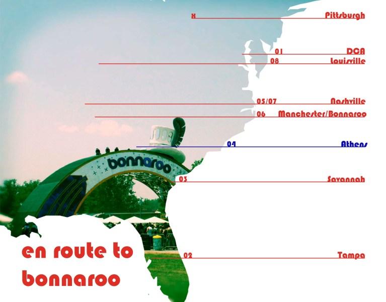 En Route to Bonnaroo:  Athens