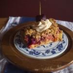 Fare Thee Well, Maraschino (Strawberry, Rhubarb, Cherry, Basil Crisp)