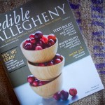 Edible Allegheny + Online Dish + Me = Page 34!