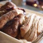 Bourbon Berries Between Bread (Cinnamon Pull Apart Loaf)