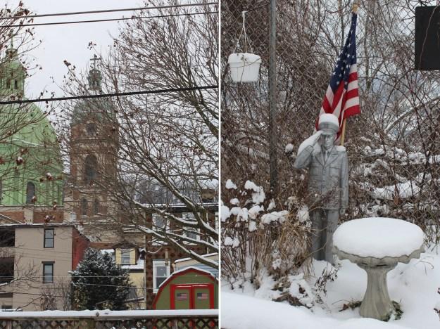Snowy Patriotism