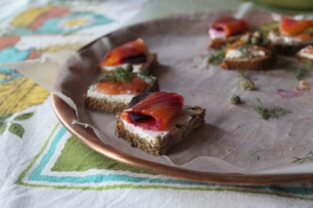 Spelt Bread Tartines