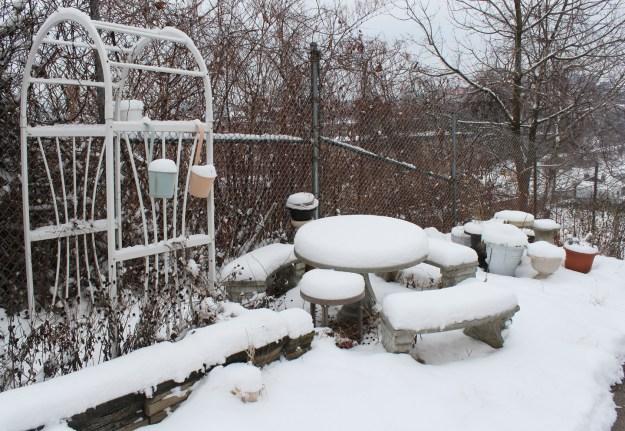 Winter Picnic Place