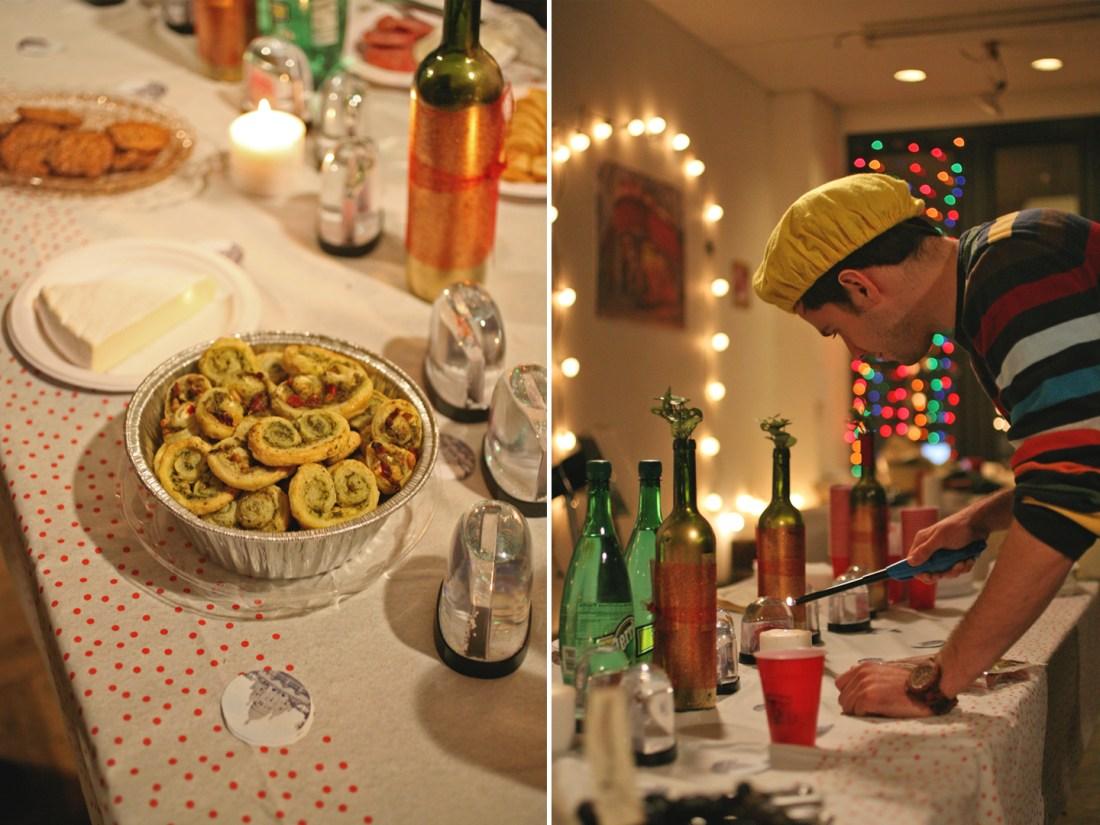 An Amélie Themed Party // www.WithTheGrains.com