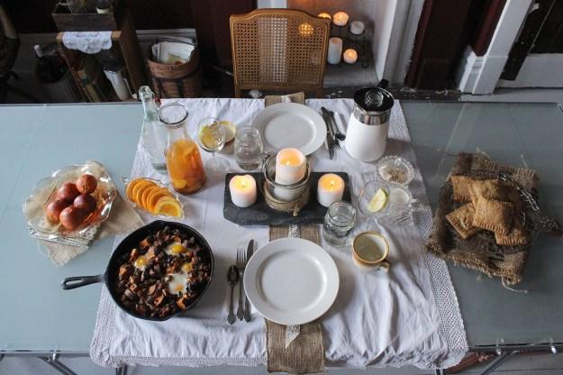 Pop Tart Brunch Table