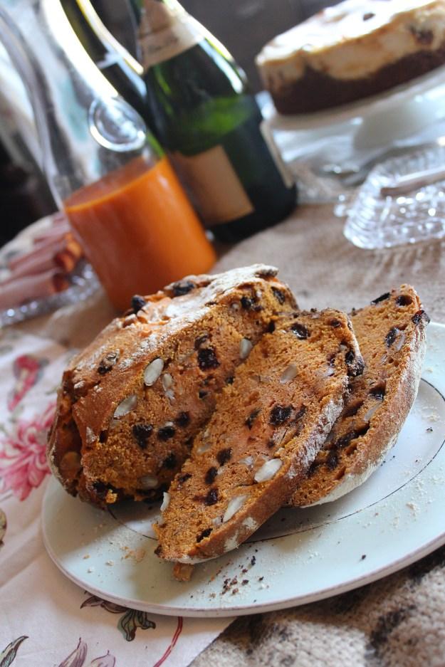 Carrot Juice Bread