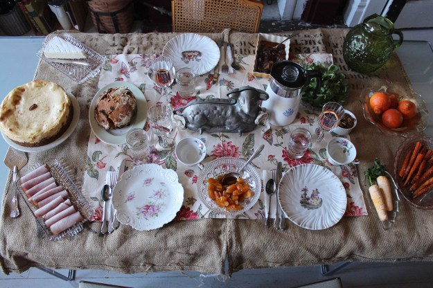 Easter Eve Table