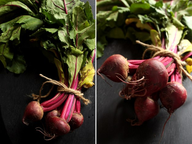 Beet Tails and Tips