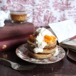 Pancakes & Ponderings with Cherries & Apricots