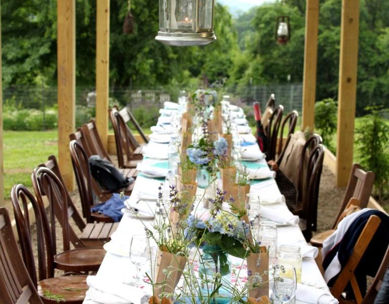Churchview Farm Dinner Series: A Fairytale Sort of Sunday!