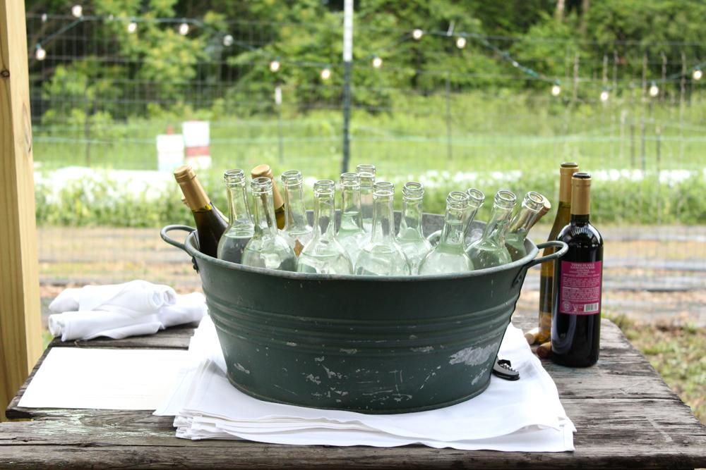 Farm DrinksChurchview Farm Dinner Series: A Fairytale Sort of Sunday in Pittsburgh // www.WithTheGrains.com
