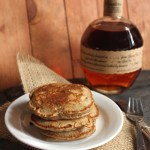 Peach 'n Bourbon Pancakes: Goodbye Special One. Hello Little One!