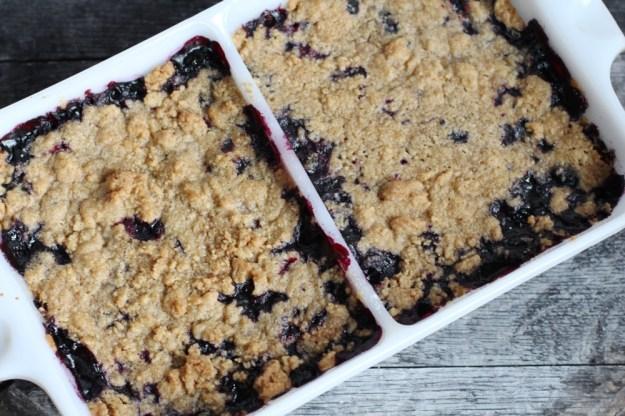 Blueberry Schlompf Baked