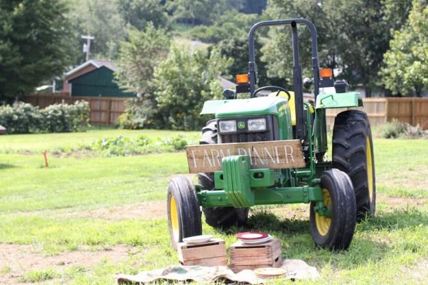 Farm Dinner Tractor