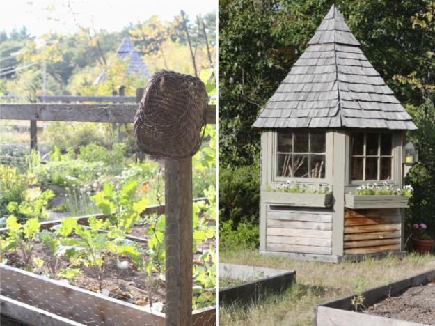 Glimpsing the Garden House