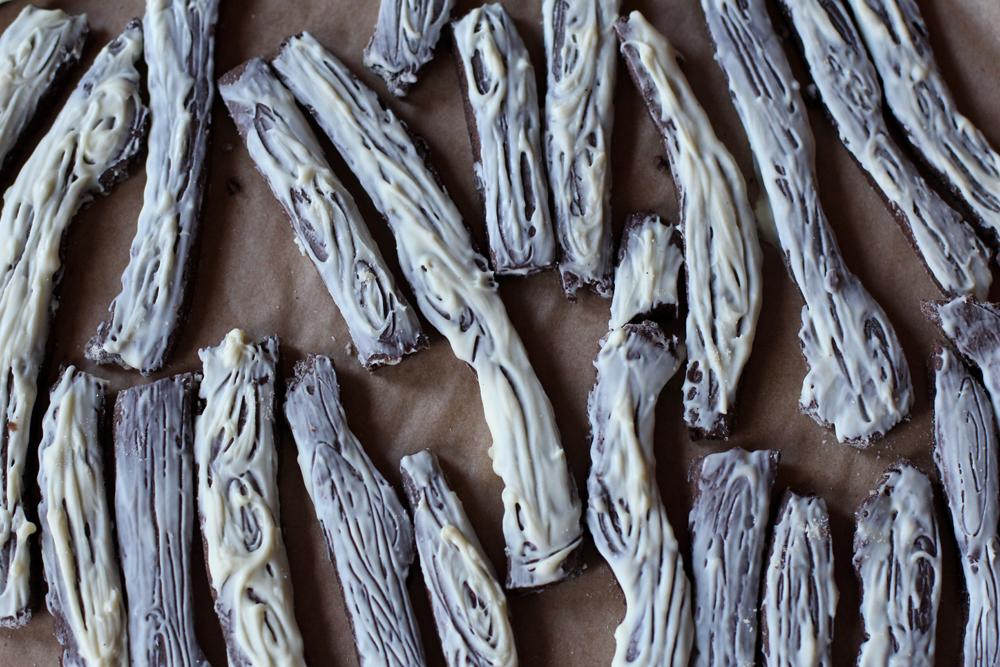 Chocolate Gingerbread Twigs