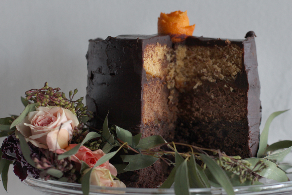 Ombre Cake Slice