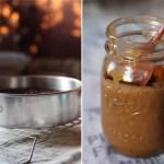 Chocolate, Whiskey & Ginger Cake with Whiskey Caramel Sauce
