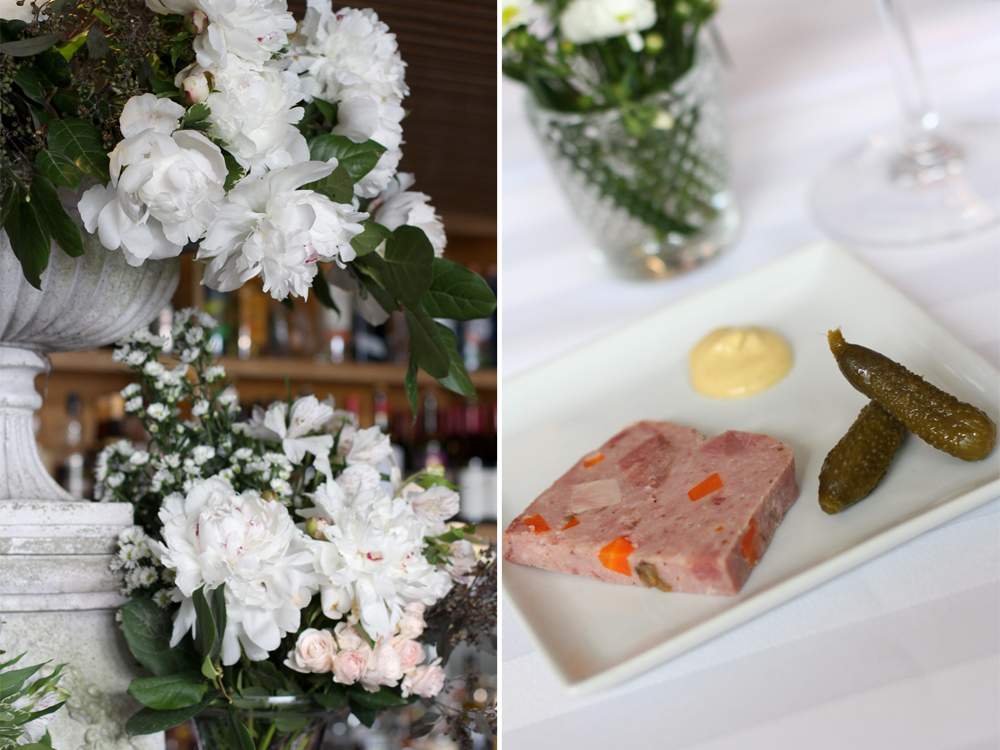 Flowers and Pate