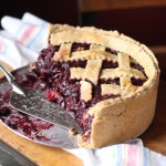 Balsamic Cherry Pie with Whole-Wheat Black Pepper Crust