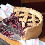 Balsamic Cherry Pie with a Deep Dish Whole-Wheat Black Pepper Crust