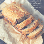 Whole Wheat Lemon Blueberry Quick Bread