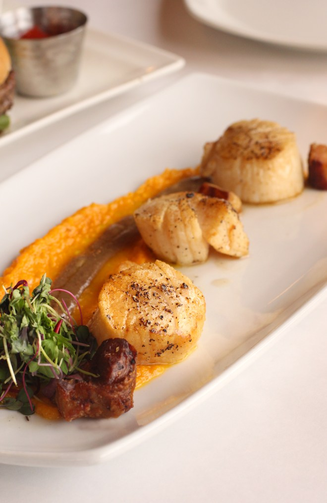 Out of the Fire Scallops