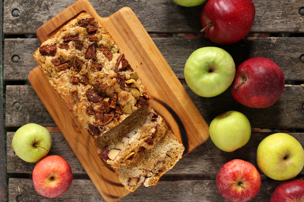 Spiced Apple Oat Bread & The Tale of The Urban Farmer (Invest in an Urban Farm)