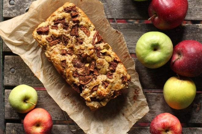 Spiced Apple Loaf