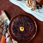 Chocolate Cranberry Upside Down Cake w/ @WigleWhiskey