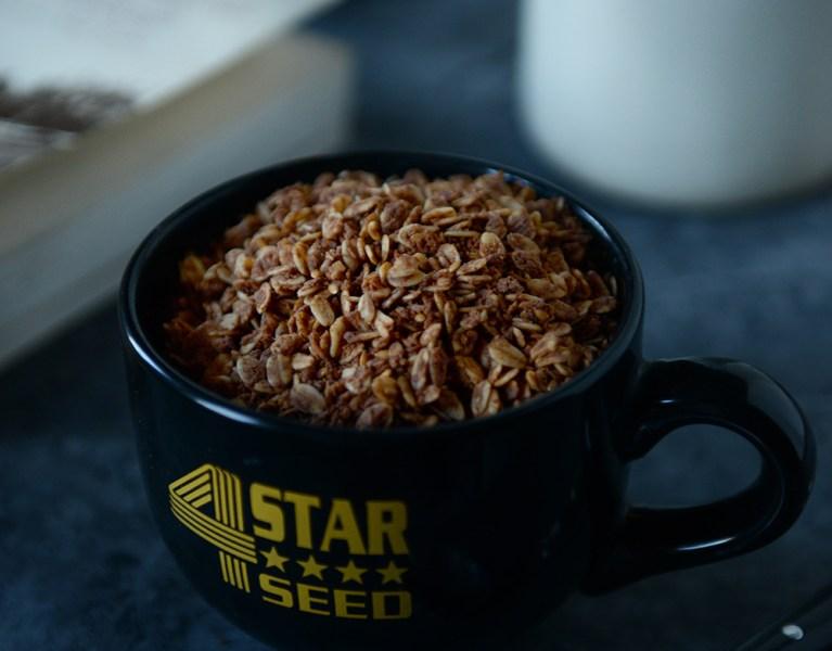 Chocolate Coconut Almond Granola & A Book Recommendation