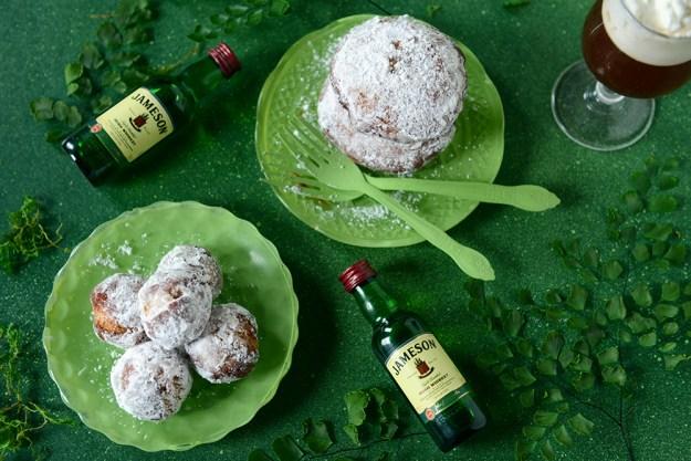 Gluten Free Irish Coffee Custard Donut by With The Grains